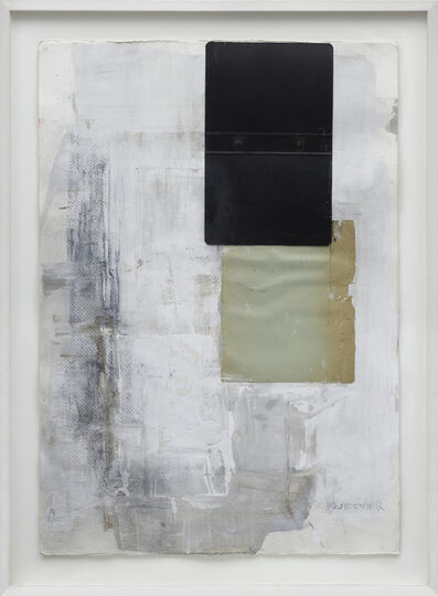 Laura Murlender, 'White immersion with black and green', 2007