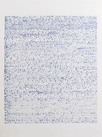 Sarah Irvin, 'X Stamp, No. 11', 2019