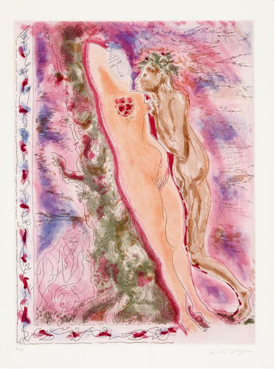 """André Masson, ' Daphnis et Chloë des """"Amants Célèbres""""', 1979"""