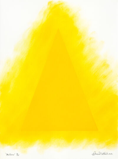 David Nash, 'Yellow', ca. 2012