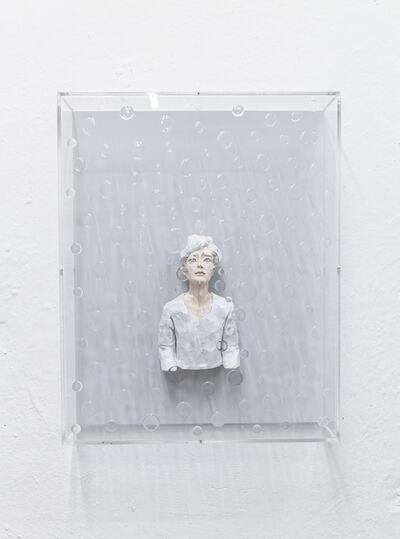 Hirofumi Fujiwara, 'utopian (whitegray)', 2020