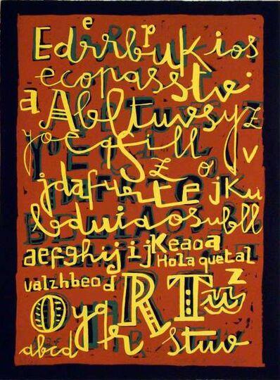 Javier Mariscal, 'Tipografia I'