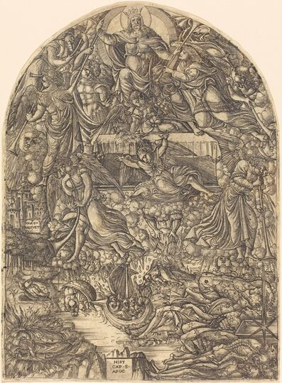Jean Duvet, 'The Opening of the Seventh Seal', 1546/1556