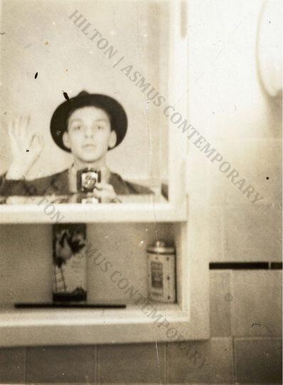 "Frank Sinatra, 'Frank Sinatra - ""Selfie"" in the Medicine Cabinet ', Late 1930s"