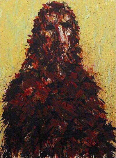 Max Uhlig, 'Holländisches Männerbildnis', 1991