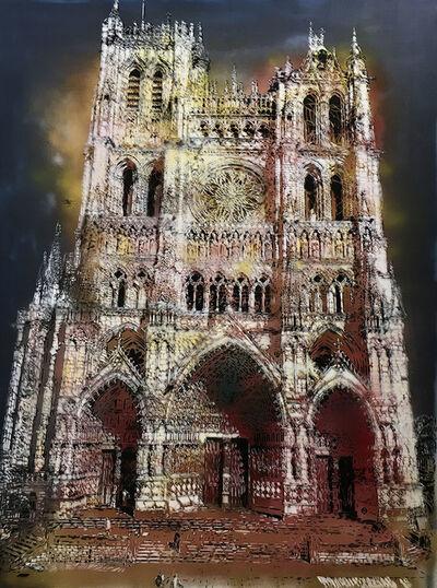"""Artiste-Ouvrier, 'Notre-Dame d'Amiens """"La Pourpre""""', 2018"""