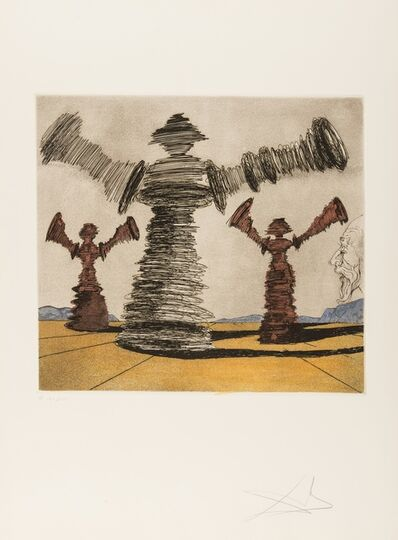 Salvador Dalí, 'The Spinning Man (Field 80-1D)', 1980