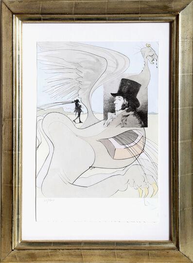 Salvador Dalí, 'Les Caprices de Goya, Plate #80', 1977