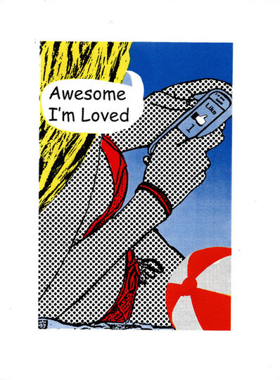 Keith Grafton, 'Awesome Im Loved (Screenprint Variations)', 2021