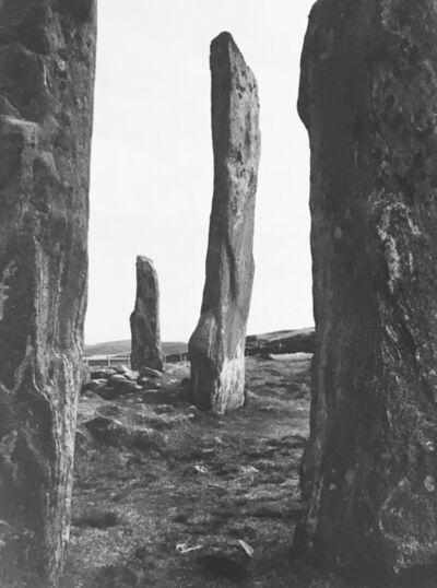 Paul Caponigro, 'Callanish Stone Circle - Hebrides', 1972