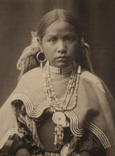 Edward Sheriff Curtis, 'Jicarilla Maiden ', c. 1907