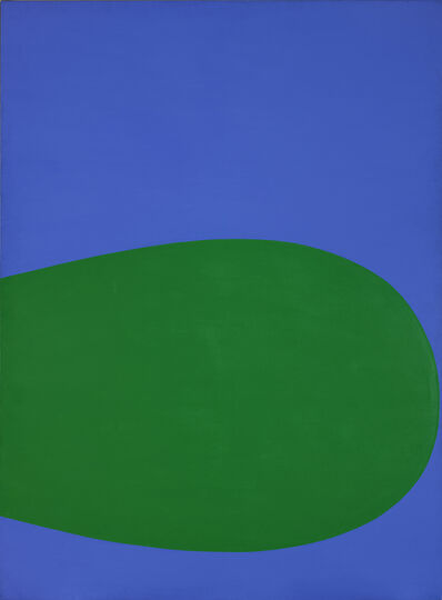 Ellsworth Kelly, 'Blue-Green', 1961