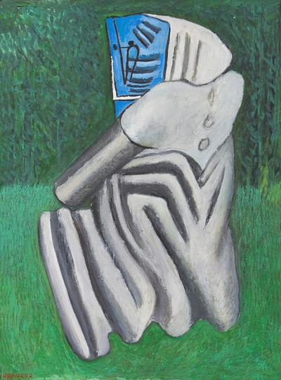 Kurt Hüpfner, 'Waldrand (Omen)', 1992