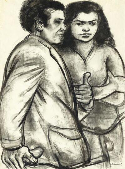 Mario Comensoli, 'Ehepaar', Ca. 1961