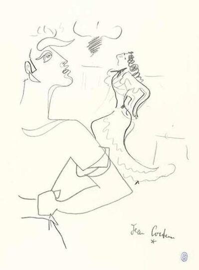 """Jean Cocteau, 'Original Lithograph """"Duo"""" by Jean Cocteau', 1950s"""