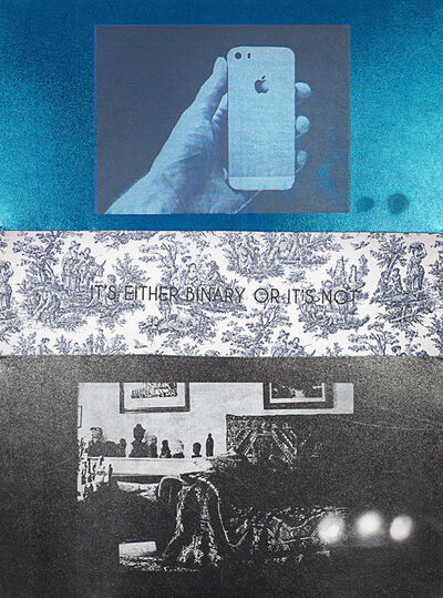 Zefrey Throwell, 'DREAM BATTLES: Technology vs. Therapy (iPhone vs. Freud's Couch)', 2014
