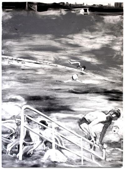 Michele Zalopany, 'Tempatation to Exist (black and white)', 1990
