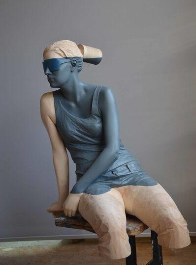 Willy Verginer, 'Acqua Alta Figure 1', 2019
