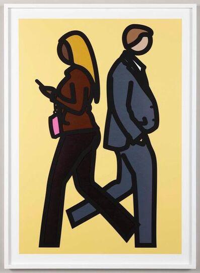 Julian Opie, 'New York Couple (5)', 2019