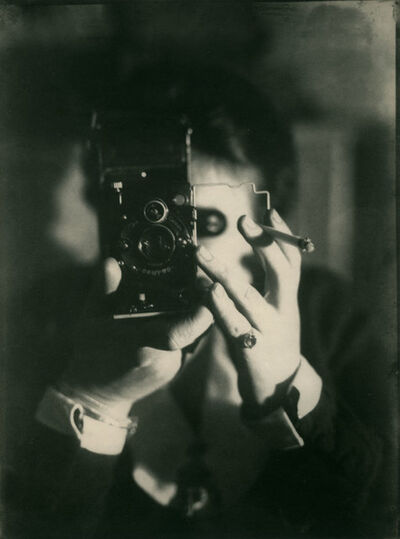 Germaine Krull, 'Self-Portrait with Camera', 1925