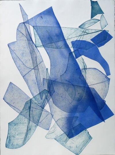 Eben Goff, 'Batholith Etching, Monoprint #B-3', 2011