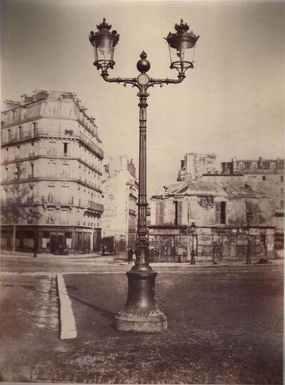 Charles Marville, 'Lamppost, Champs de Mars, Paris', ca. 1867