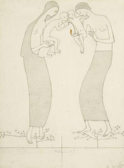 """Adolfo Wildt, '""""Pollen""""', ca. 1917"""