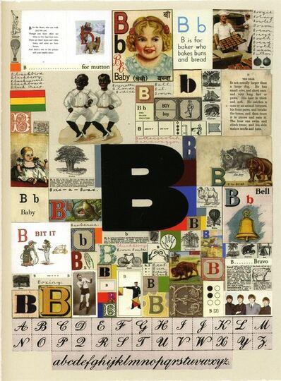Peter Blake, 'An Alphabet B', 2007