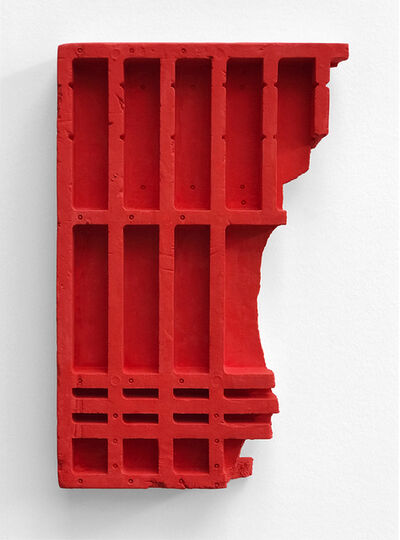 Mike Meiré, 'Red Relief', 2017