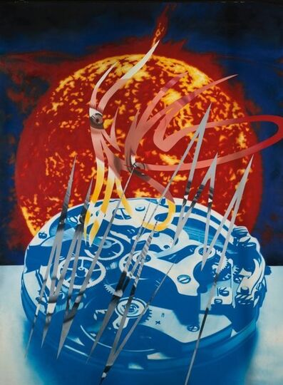 James Rosenquist, 'Sun Sets on the Time Zone ', 1989