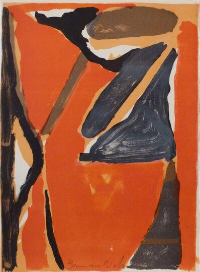 Bram van Velde, ' L'unique planche 1', 1973
