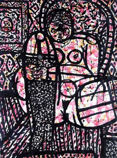 Joseph Glasco, 'Seated Nude', ca. 1970