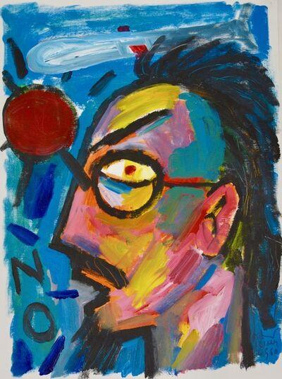 Vasan Sitthiket, 'No! (Self-Portrait)', 2017