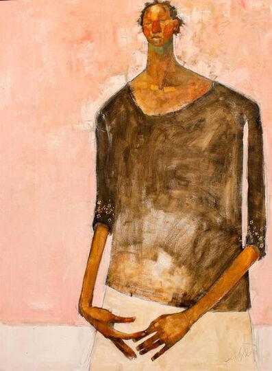 Olivia Mae Pendergast, 'Woman on Pink ', 2018