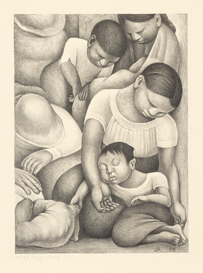 Diego Rivera, 'El Sueño (La Noche de los pobres) (The Dream (The Night of the Poor))', 1932