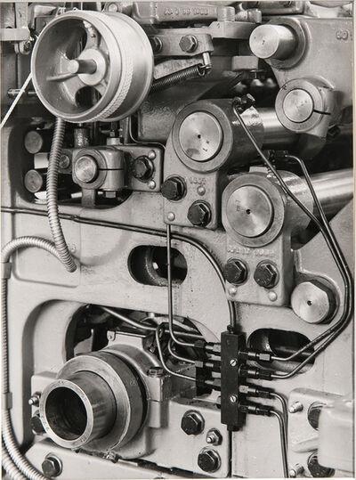 Albert Renger-Patzsch, 'Machine, Schubert & Salzer, Ingolstadt, Germany', 1950s