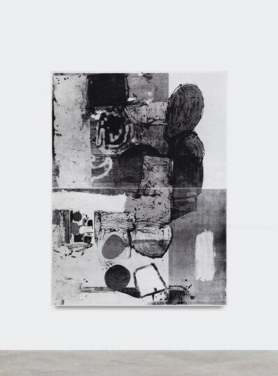 Linus Bill + Adrien Horni, 'Mixed Media B/W 07', 2019