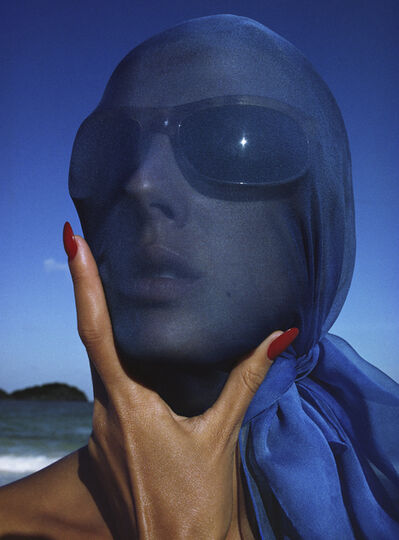 Hiro, 'Tilly Tizzani with Blue Scarf, Antigua, West Indies ©Hiro', 1963