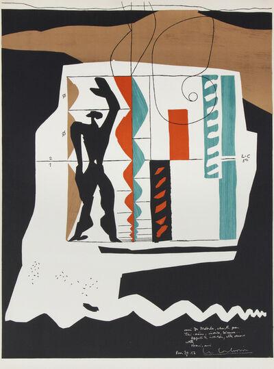 Le Corbusier, 'Modulor after Le Corbusier', 1956