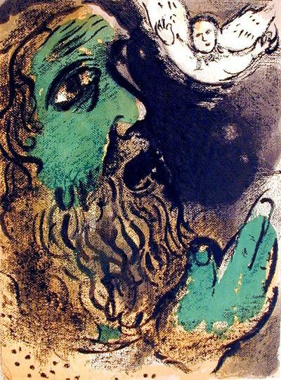 Marc Chagall, 'Job Praying', 1960