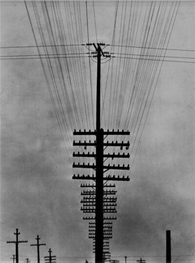 Tina Modotti, 'Cables de telégrafo', ca. 1925