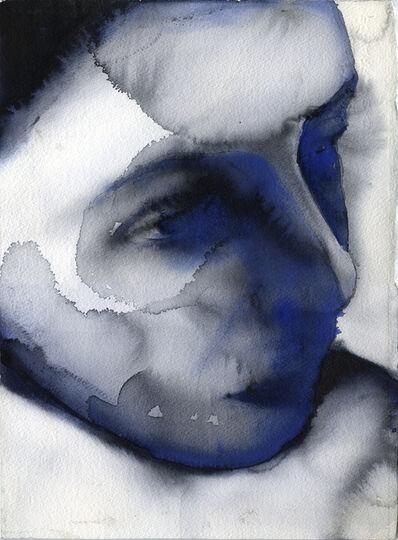Graham Dean, 'Black in Blue 8', 2021