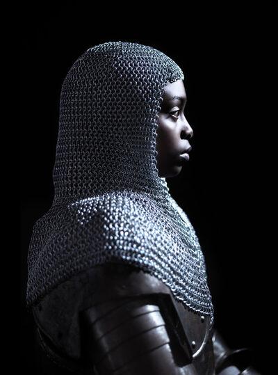 Nicolas Demeersman, 'Rewrite history in black - Jeanne d'Arc I', 2016