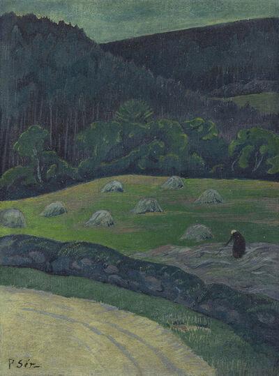 Paul Sérusier, 'Paysanne au champ', Unknown
