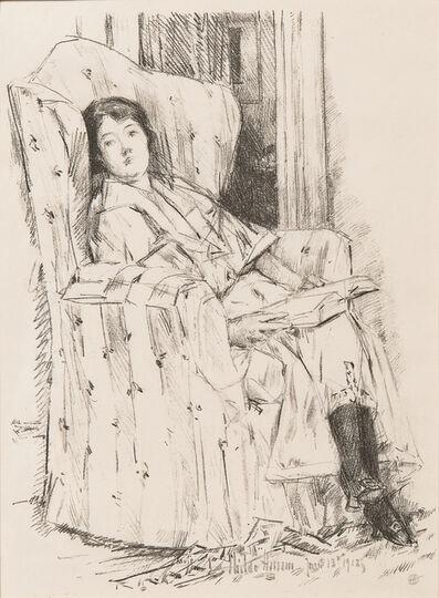 Childe Hassam, 'Déshabillé', 1918