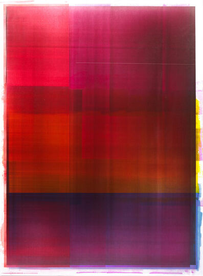 Jonathan Forrest, 'Crimson Cross', 2018