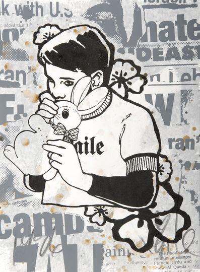 FAILE, 'Bunny Boy #5', 2006