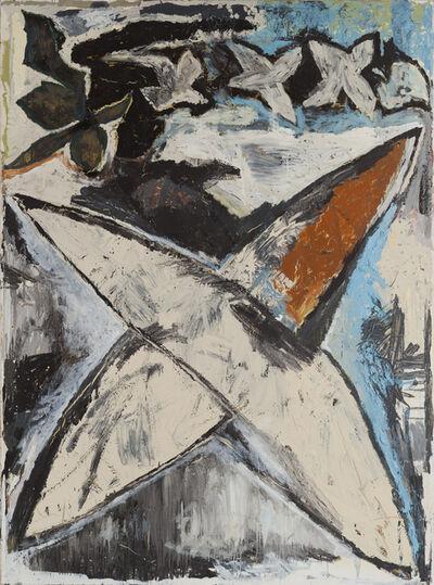 """Jean-Pierre Pincemin, '""""Etoile, année de l'Inde""""', 1981"""