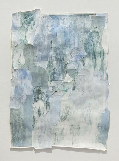 Idun Baltzersen, 'Hairstyles II', 2017