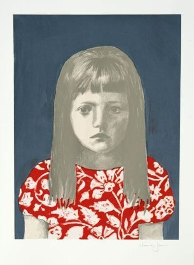 Claerwen James, 'Girl 2, Red White', 2011